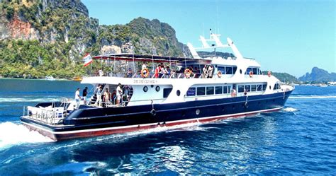 boat tour from phi phi island phi phi island tour by express boat phuket tours traveliss