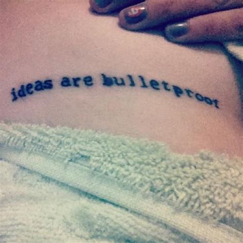 bulletproof tattoo v for vendetta quote ideas are bulletproof ink
