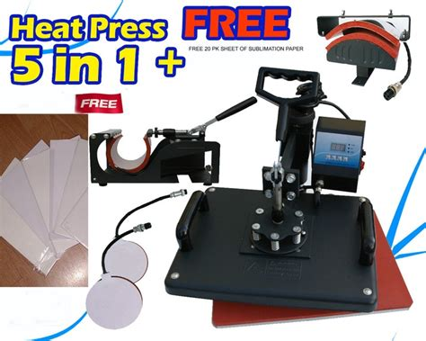 cap heat press machine for sale brand new heat press machine 5 in1 for sale use for