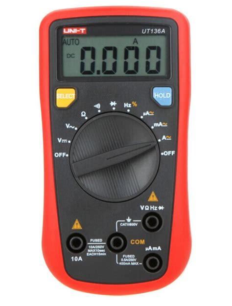 Multitester Analog Dan Digital uni t ut136a lcr meter analog multitester auto range data