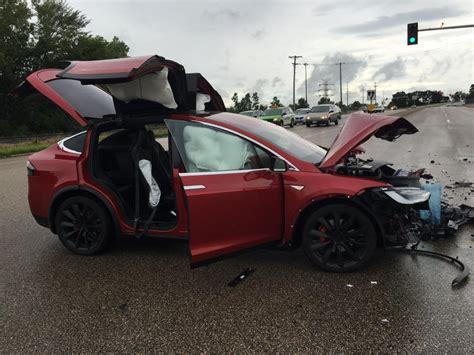 tesla jake paul inside tesla model x saves family and pet after being struck at