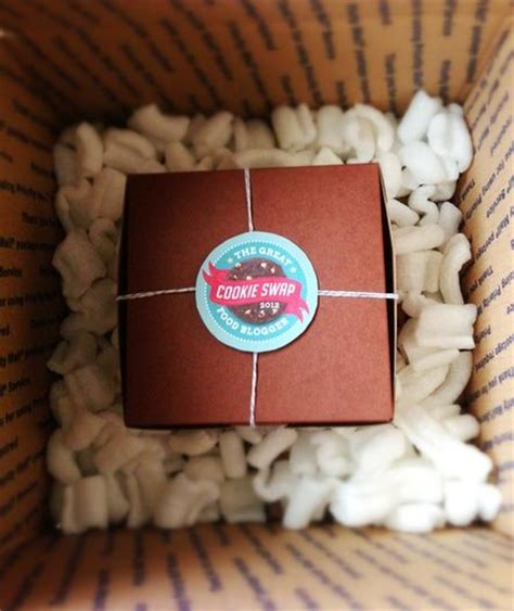 how to package and ship cookies holiday happiness pinterest