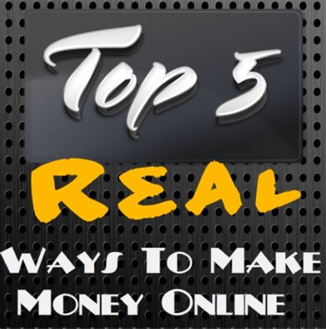 Real Ways To Make Money Online - 5 real ways to make money online from home learn how to earn from home