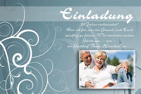 Einladung Zur Silberhochzeit by Einladung Einladungskarten Silberhochzeit Dankeskarten
