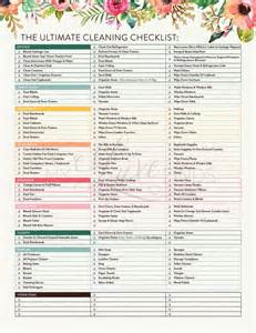 cleaning checklist printable best 25 cleaning checklist printable ideas on pinterest