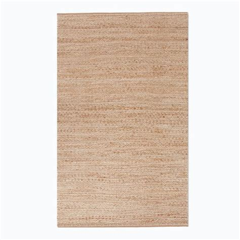 stripe jute rug woven stripe jute cotton rug west elm