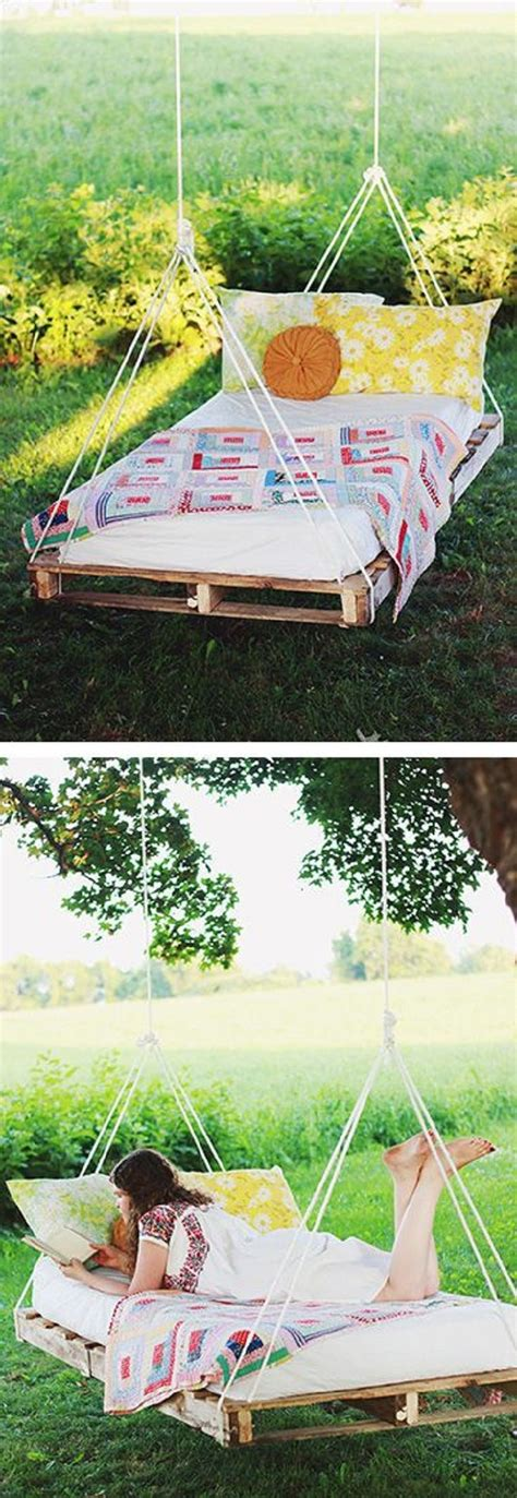 diy pallet swing bed diy pallet swing bed home