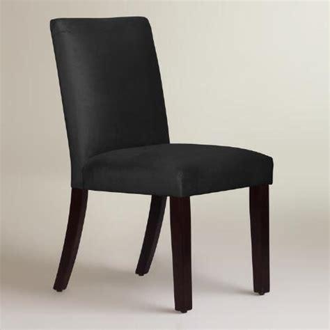 world upholstered dining chairs velvet kerri upholstered dining chair world market