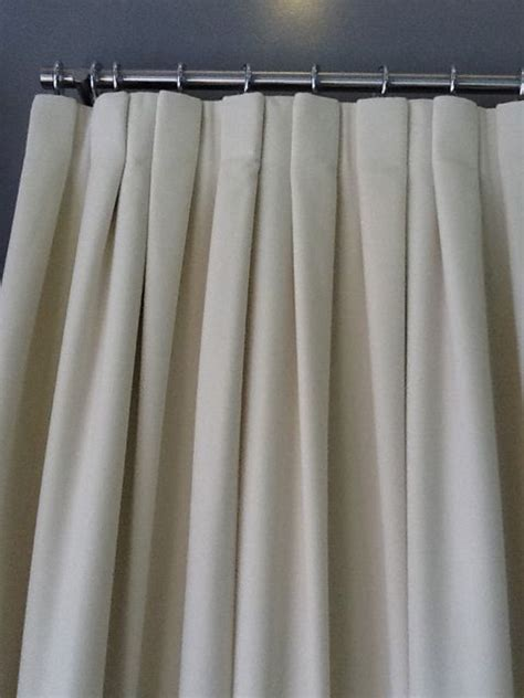 inverted pleat curtains inverted pleat variation window coverings pinterest