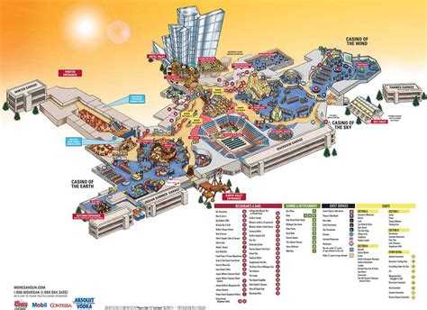 mohegan sun casino floor plan popular 191 list mohegan sun map
