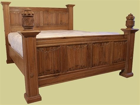 Handmade Oak Beds - reproduction beds highest quality value handmade