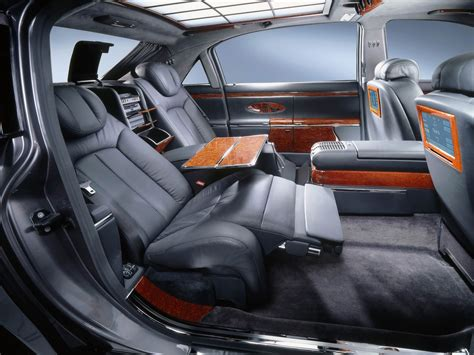 luxury cars inside passion for luxury maybach 62 excellence refined