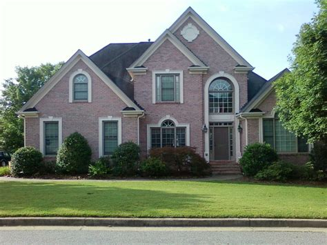 housing exteriors pink brick house exterior home of mc designs exterior