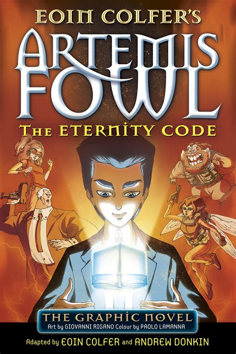 artemis a novel books af the eternity code graphic novel artemis fowl