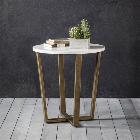 white marble end table marble gold occasional table primrose plum
