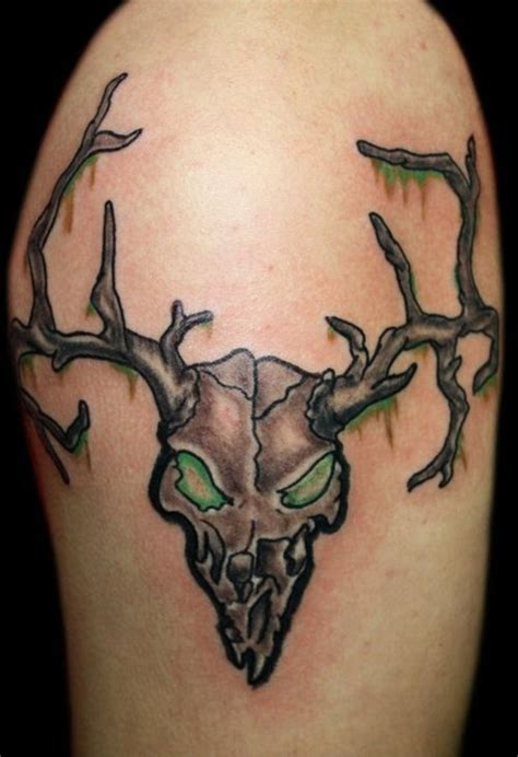 deer skull tattoos designs ideas and meaning tattoos