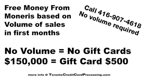 Moneris Gift Cards - toronto credit card processing