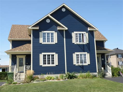 blue siding house pacific blue colour steelside steel siding siding