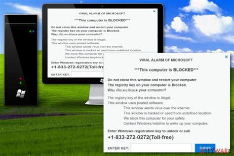 remove virus alert  microsoft scam removal guide
