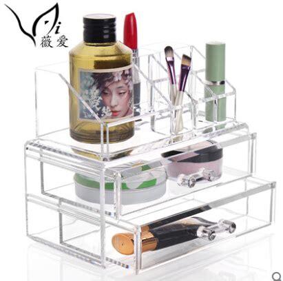 Akrilik Kosmetik Tipe I 2 gran organizador de maquillaje de alta calidad compra