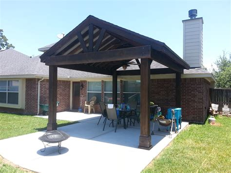 free standing patio cover designs free standing patio cover plans lovely beautiful free standing stained wood gable patio cover