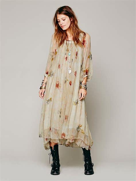 mes demoiselles brume dress in brown combo lyst