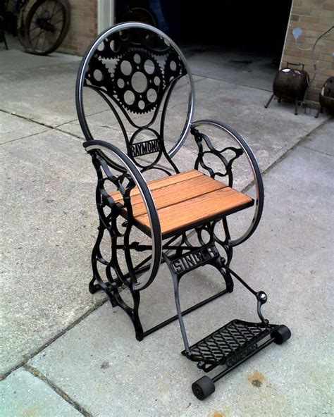 Sewing Machine Chairs by Another Jeff Sewing Machine Bicycle Motorcycle Gear