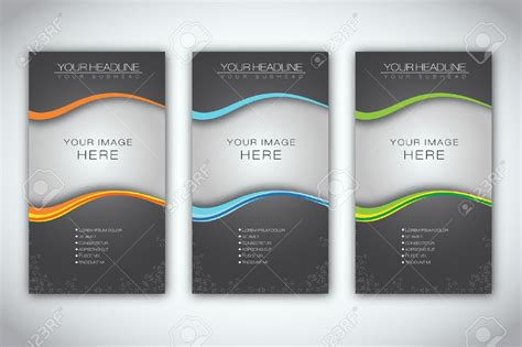 brochur template marketing brochure templates set 1