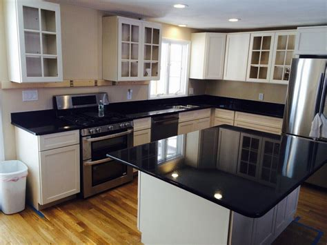 Black Pearl Granite White Cabinets by Granite Countertops Kitchens Granite Picturesgranite