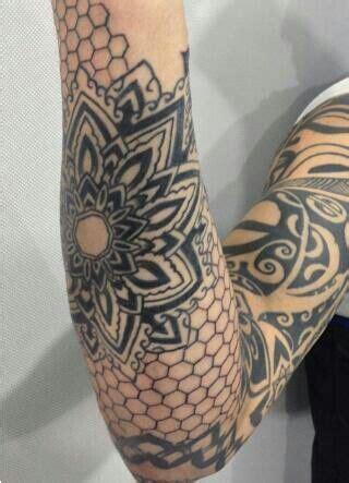 geometric tattoo filler tattoo  tattooviral.com