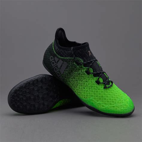 Sepatu Adidas For 1 sepatu futsal adidas original x 16 1 in solar green black copper metallic