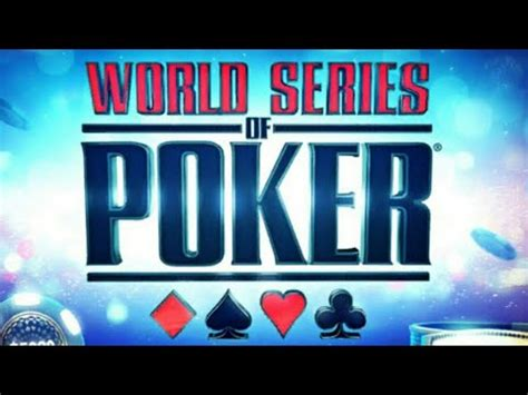 world series of poker wsop texas holdem free mobile card