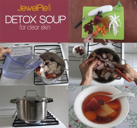 Clear Detox Soup by Detox Soup To For Clear Pimple Free Skin Jewelpie