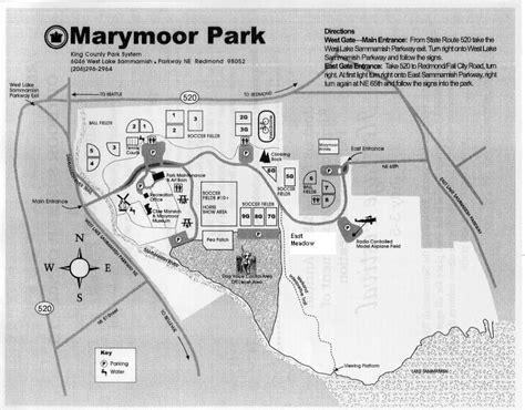 marymoor park marymoor map