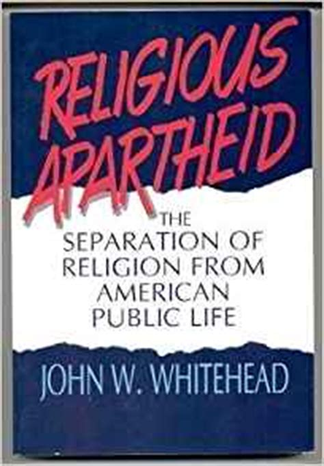 the separation books religious apartheid the separation of religion from
