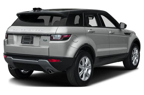 2016 Land Rover Range Rover Evoque Price Photos