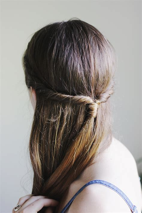 how to cut crown of hair with a lyered look simple twisted crown 187 the merrythought