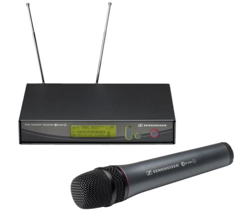 Microphone Wireless Mic Senheiser Ew 545 G2 sennheiser ew 300 iem g2 image 525587 audiofanzine