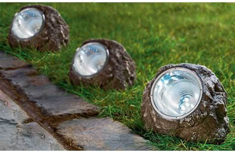 Rock Lights For Garden Garden Rock Lights 4 Pack Led Rgb Garden Or Pond Submersible Rock Light Ebay China Solar Rock