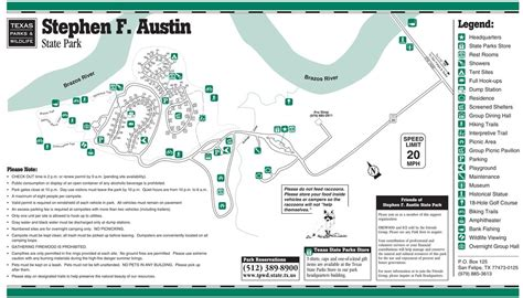 sfa map stephen f state park maplets
