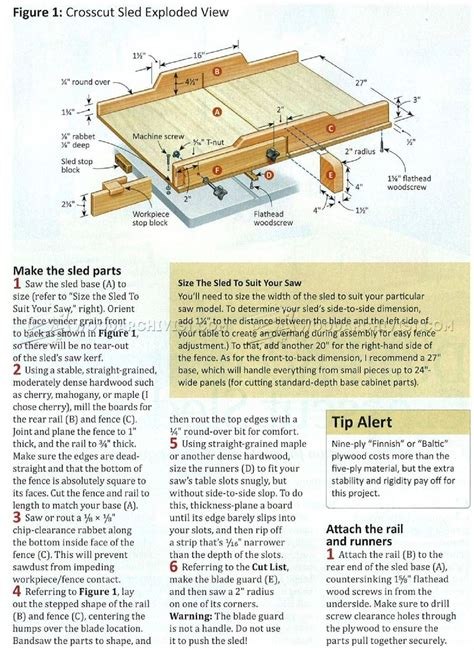 table saw crosscut sled plans crosscut circular saw sled just b cause