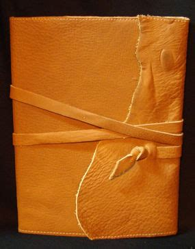 how to make a rugged leather journal cover craftstylish