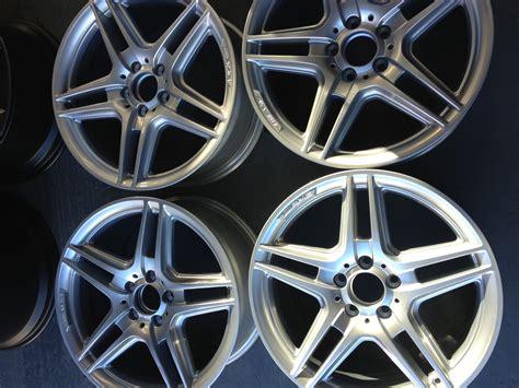 mercedes  class amg alloy wheels refurbished  prestige