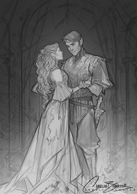 Sketches — charlie bowater | A court of mist, fury