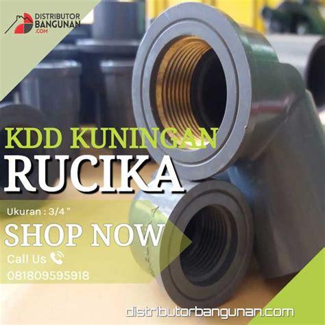 Rucika Knee Drat Dalam Kdd Pvc 34 Aw Faucet Murah 1 Knee Drat Dalam 3 4 Rucika Metal Distributor Pipa Pvc