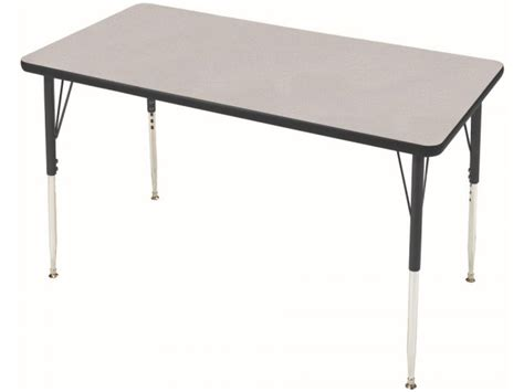 tables in schools study adjustable rectangle table 60x30