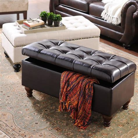 storage bench living room everyone could use a storage bench in their living room