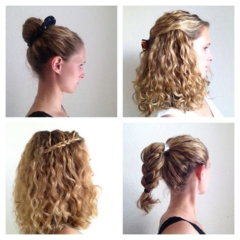 easy hairstyles for curly hair best curly hairstyles