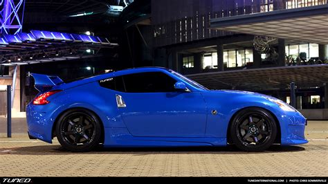 out of the blue roy s nissan 370z tuned international