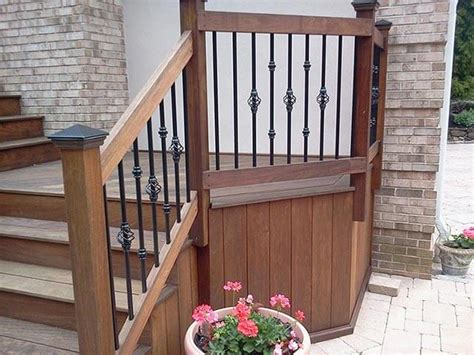 how to clean wood banisters wood deck railing wood railings outdoor railings redwood and cedar railing